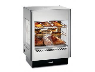 Lincat UMS50D Upright Heated Merchandiser with 2 Doors | Eco Catering Equipment