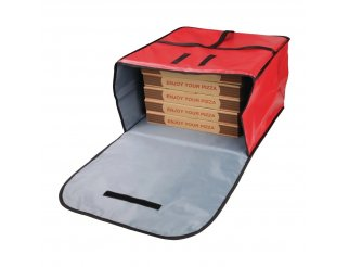 Vogue Large Polyester Insulated Pizza Delivery Bag
