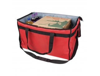 Vogue Large Polyester Insulated Food Delivery Bag - 580mm
