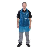 Polyco Disposable Blue Bib Apron