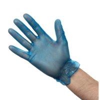 Vogue Medium Powdered Vinyl Gloves