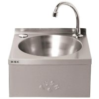 Mechline Basix Stainless Steel Knee Operated Hand Wash Basin