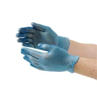 Vogue Large Powder Free Vinyl Gloves