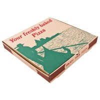 Compostable Printed Pizza Boxes 14""