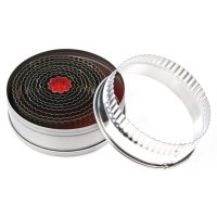 Vogue Fluted Circle Cutter Set - Pack of 11