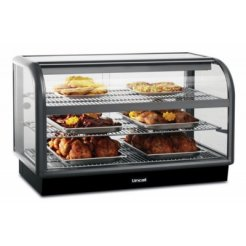 Lincat C6H/100S Curved Front Heated Merchandiser | Eco Catering Equipment