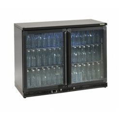 Gamko MG2/275G Double Door Undercounter Bottle Cooler | Eco Catering Equipment