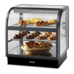 Lincat C6A/75B Curved Front Ambient Merchandiser | Eco Catering Equipment