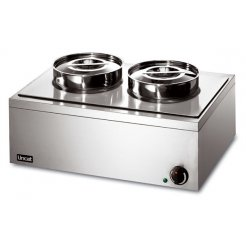 Lincat LRB2 Double Pot Bain Marie (Dry) | Eco Catering Equipment