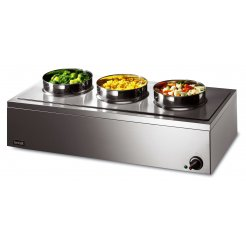 Lincat LRB3W 3 Pot Bain Marie (Wet or Dry) | Eco Catering Equipment