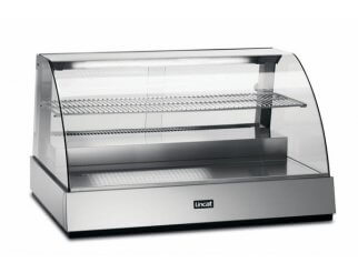 Lincat SCR1085 Curved Front Refrigerated Merchandiser | Eco Catering Equipment