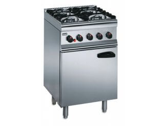 Lincat 4 Burner Gas Oven Range SLR6 Natural/Propane (Silverlink 600) | Eco Catering Equipment