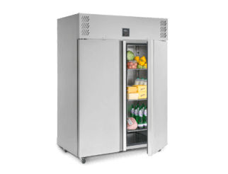 Williams HJ2 Double Door Refrigerator - Jade Range | Eco Catering Equipment