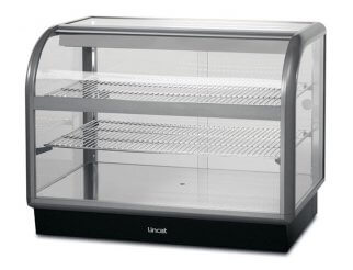 Lincat C6A/100S Curved Front Ambient Merchandiser | Eco Catering Equipment