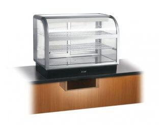 Lincat C6R/100SU Curved Front Refrigerated Merchandiser | Eco Catering Equipment