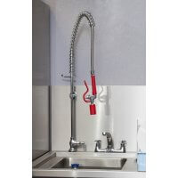 Mixer Tap With Overhead Spray Arm