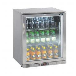 Lec BC6097STLED Single Door Bottle Cooler | Eco Catering Equipment