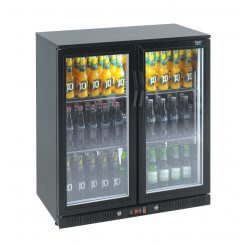 Lec BC9097KLED 2 Door Bottle Cooler | Eco Catering Equipment