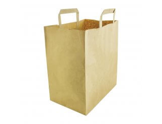 Vegware Compostable Large Recycled Paper Bags