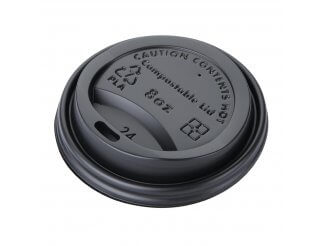 Fiesta Green Compostable Hot Cup Lids