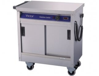 Victor HC21MS Plain Top Hot Cupboard
