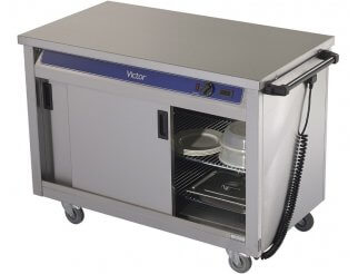 Victor HC30MS Plain Top Hot Cupboard