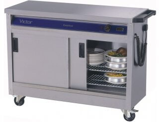 Victor HC31SS Plain Top Hot Cupboard