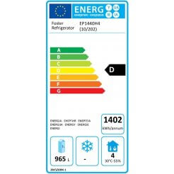 Foster EP1440H4 Ecodesign Energy Labelling