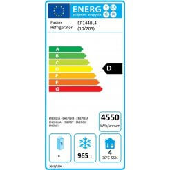 Foster EP1440L4 Ecodesign Energy Labelling