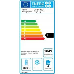 Foster EP40BSR Ecodesign Energy Labelling