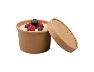 Colpac Recyclable Kraft Soup Cups - 8oz