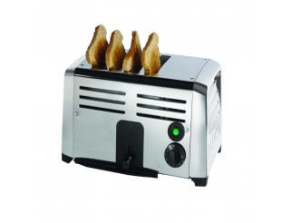 Burco 4 Slot Toaster | Eco Catering Equipment