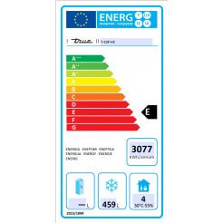 True T-23F-HC Ecodesign Energy Labelling